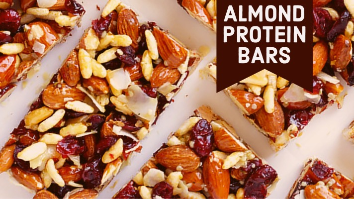 Almond Protein Bars by parafit
