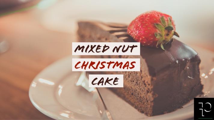 MIXED NUT CHRISTMAS CAKE parafit