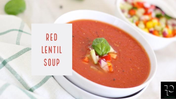 RED LENTIL SOUP by parafit